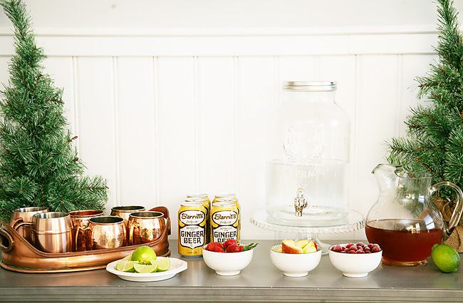 Host a Moscow Mule Bar this holiday season