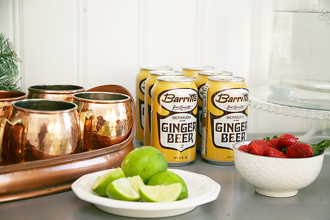 How to host a Moscow Mule Bar