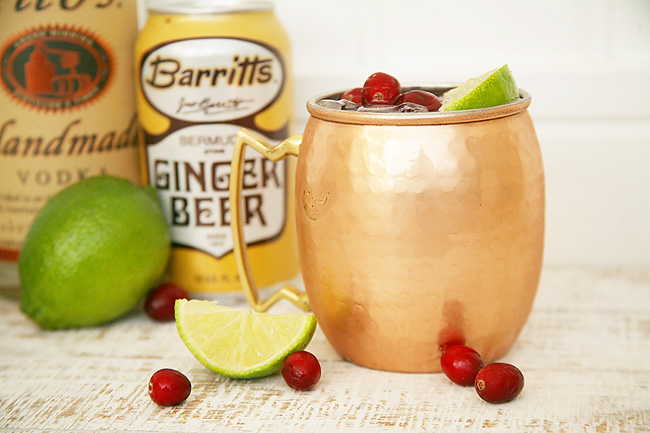 Cranberry Ginger Moscow Mule Recipe