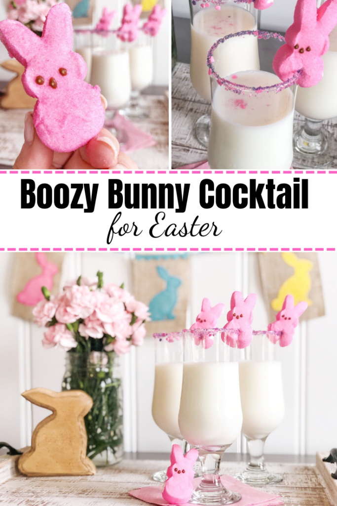 Boozy Bunny Cocktail Recipe for Easter