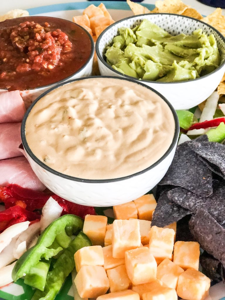 Taco Tuesday appetizer board
