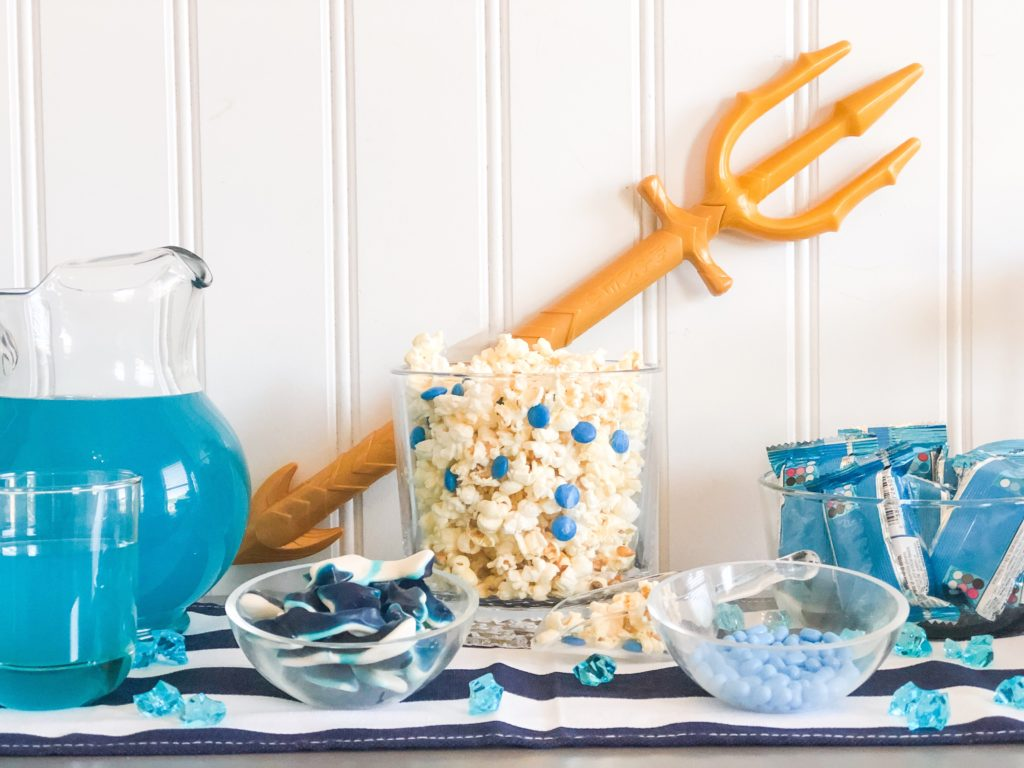 Blue foods for a Percy Jackson party