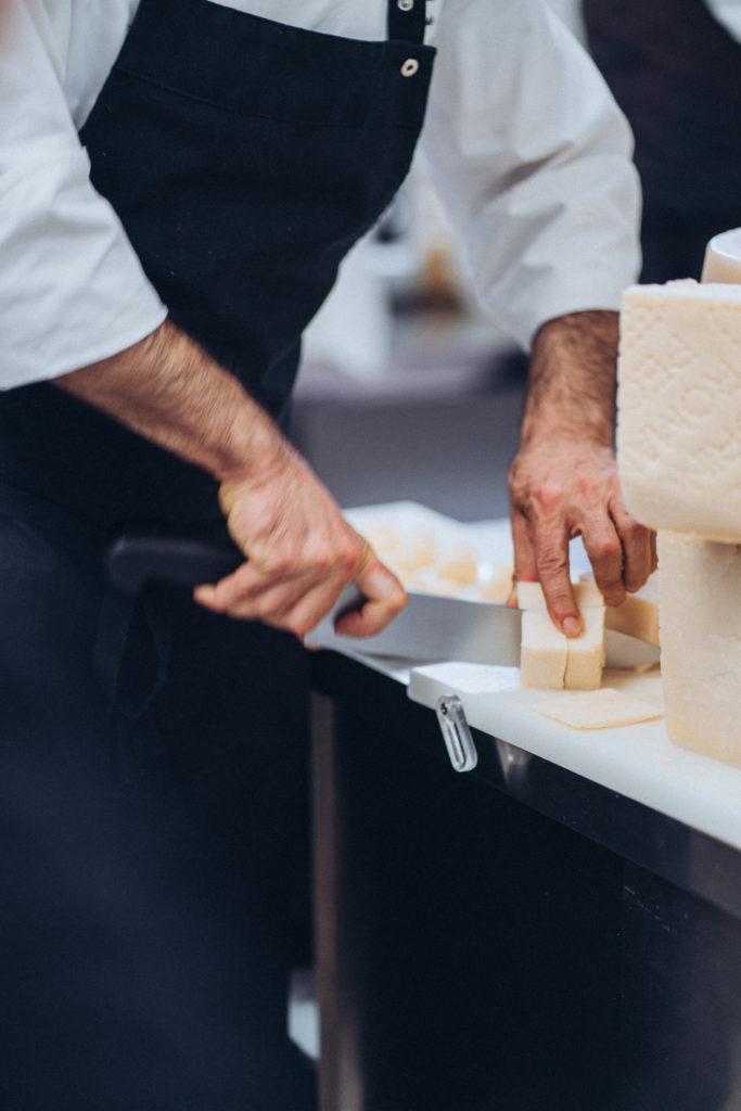 Chef Leonardo Cooking With Pecorino Romano