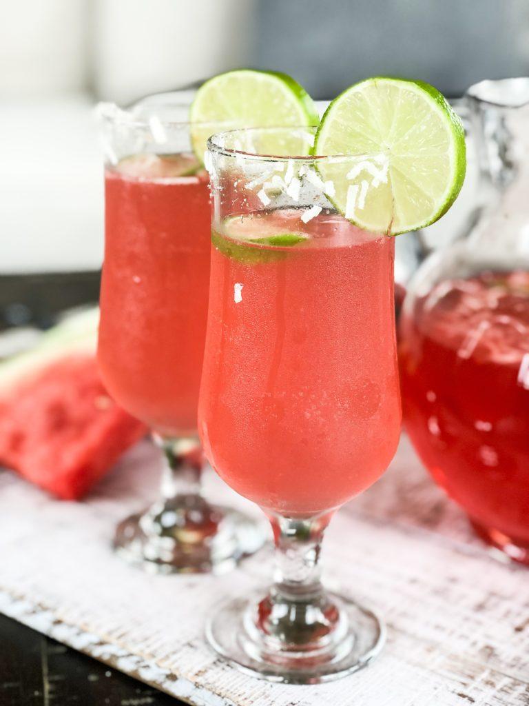 Watermelon Coconut Cocktail recipe