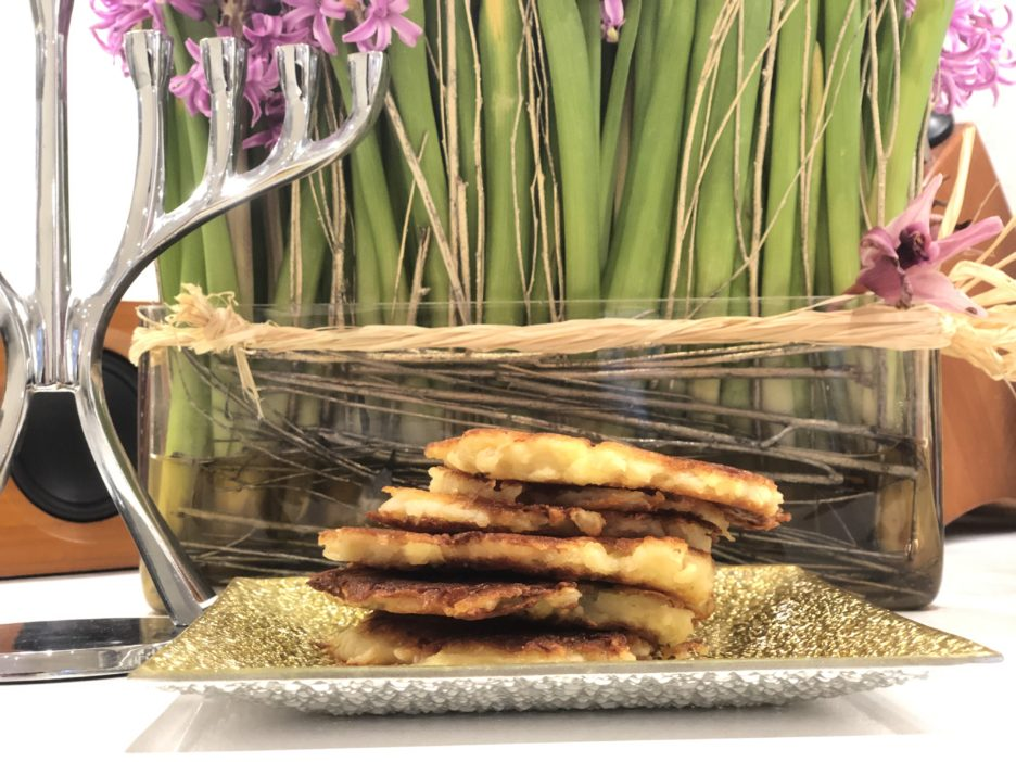 Easy Latke Recipe that will cut your cooking time in half!