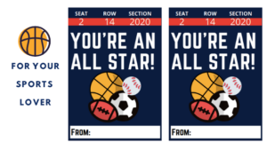 Valentine's day cards for sports lovers