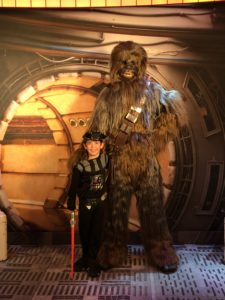 Chewbacca on the Disney Fantasy