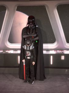 Darth Vader at Star Wars Day at Sea