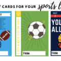 Valentines day cards for sports lovers